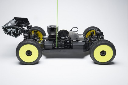 JQ THE BLACK EDITION GP 1/8 SCALE BUGGY PRO KIT WITH FULL HOP-UP